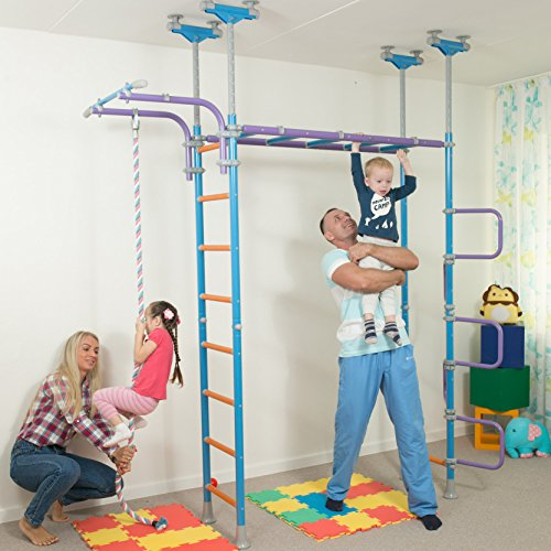 Huge kids playground play set for floor ceiling indoor